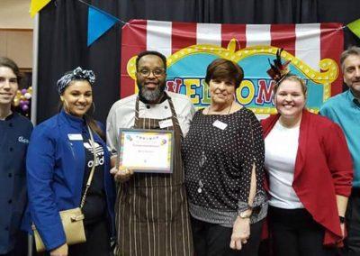 Charter Senior Living Wins Best Dessert at Chocolate Festival!